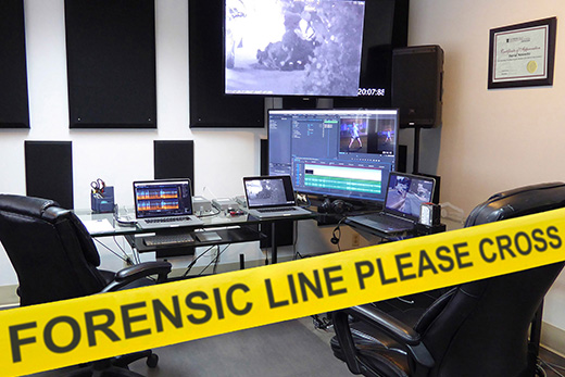 Forensic Line Please Cross.